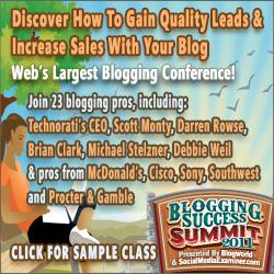 Blogging Success Summit 2011