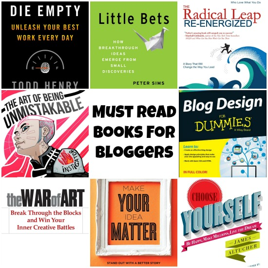 Books by Bloggers For Bloggers