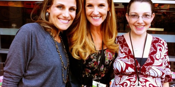 Connecting with awesome friends and colleagues at New Media Expo Nov 2011. 35 weeks pregnant with baby #5! If I can do it, you can do it.