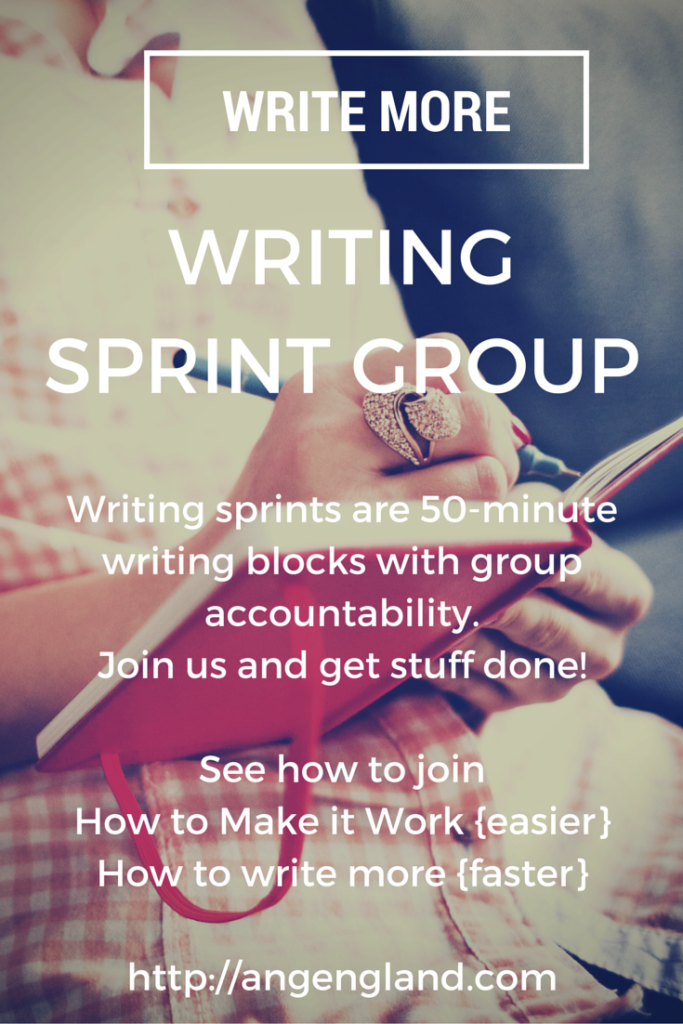 Writing Sprints to write more with group accountability - How they work and how to join one.