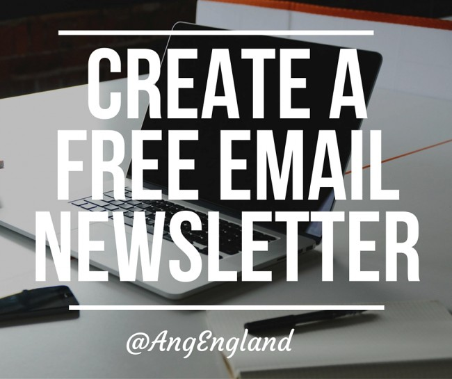 How to Create a Free Email Newsletter